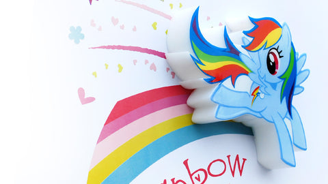 Mini Rainbow Dash Light
