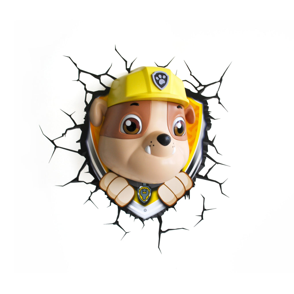 Rubble Paw Patrol Light