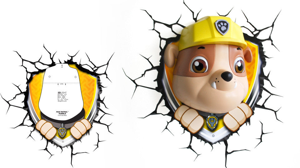 Crack Sticker - Paw Patrol Rubble
