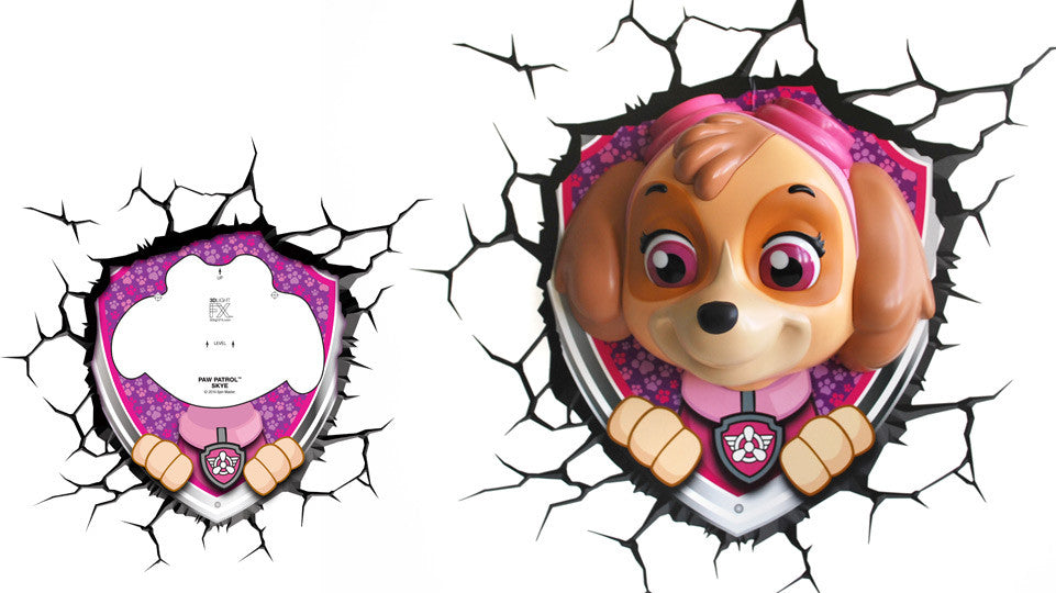 Crack Sticker - Paw Patrol Skye