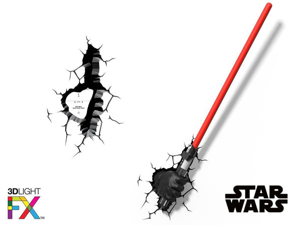 Crack Sticker - Star Wars Darth Vader Saber