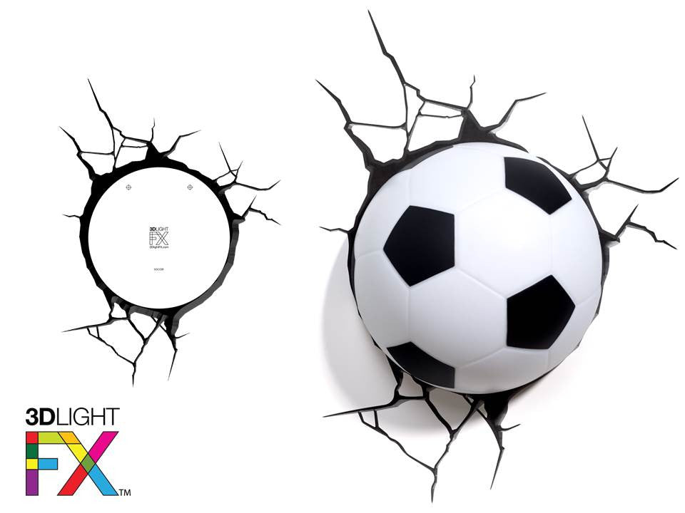 Crack Sticker - Soccer Ball