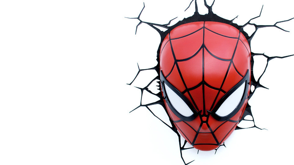 Spider-Man Mask Light
