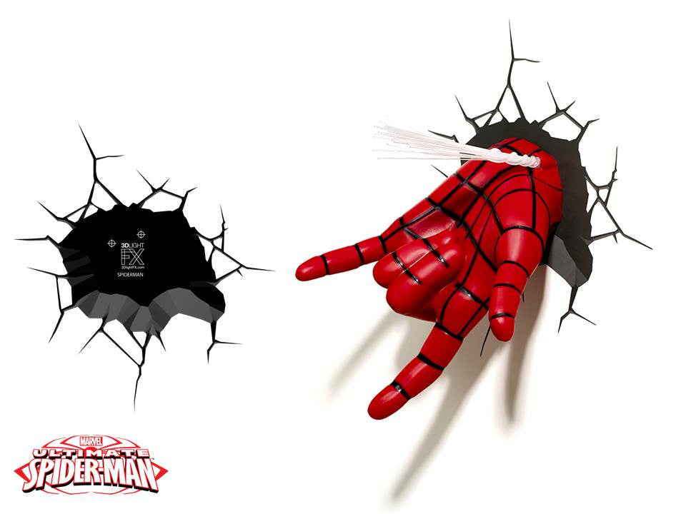 Crack Sticker - Spiderman Hand
