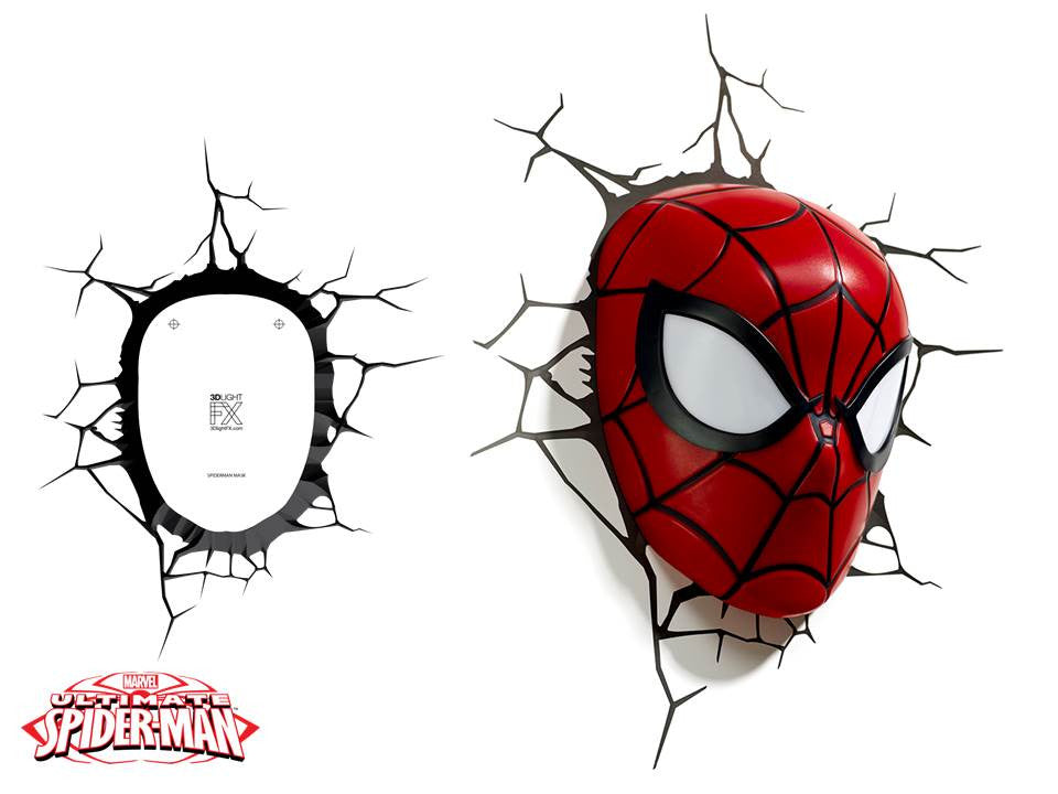Crack Sticker - Spiderman Mask