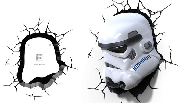 Crack Sticker - Star Wars Storm Trooper