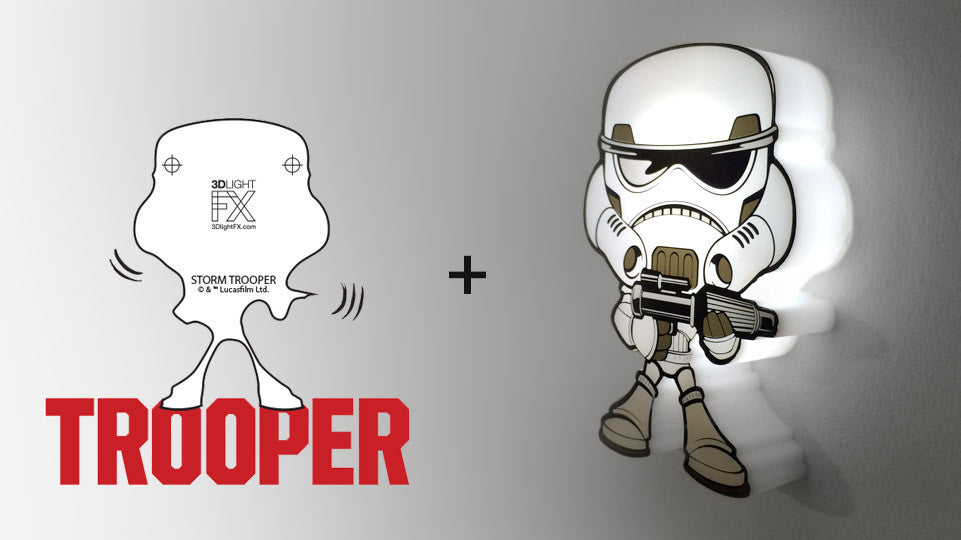 MINI Sticker - MINI Star Wars StormTrooper