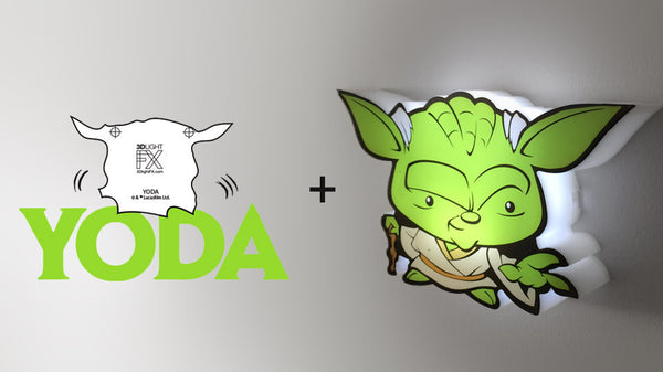 MINI Sticker - MINI Star Wars Yoda