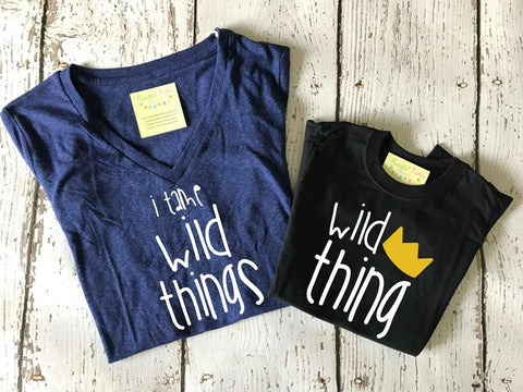 I Tame Wild Things Ladies Tee
