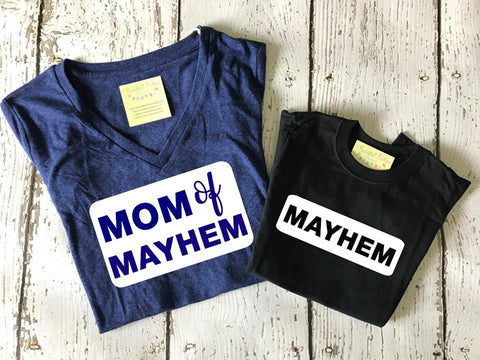 Mom of Mayhem Ladies Tee