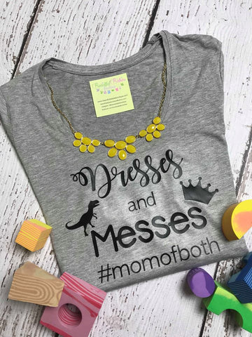 #momofboth Ladies Tee