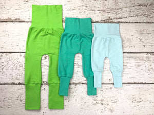 Maxaloones Grow with me Pants, Without Bum Circle - SOLID COLORS - 19 colors available