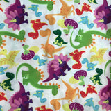 Beautiful Baby Bottoms Cloth Diaper - Rainbow Dino