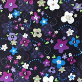 Beautiful Baby Bottoms Cloth Diaper - Purple/Blue Floral