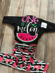 "Beautiful Baby Bottoms Cloth Diaper - ""One In A Melon"" Embroidered"
