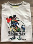 Wrong Park Dinosaur Shirt