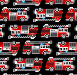 Beautiful Baby Bottoms Cloth Diaper - Firetruck