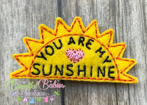 Sunshine Hair Clip or Headband