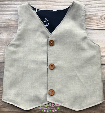 Little Man Vest