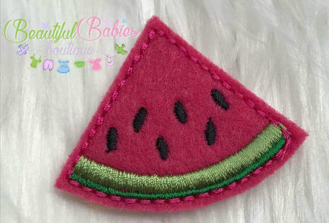 Watermelon Hair Clip or Headband