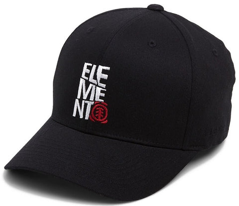 Element Colewell Flexfit Cap - BLACK