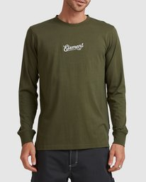 ELEMENT - Simple Truth LS Tee - FOREST