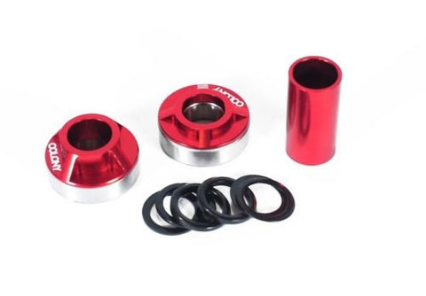Colony BMX Spanish Bottom Bracket Kit 22mm Spindle RED 105gms