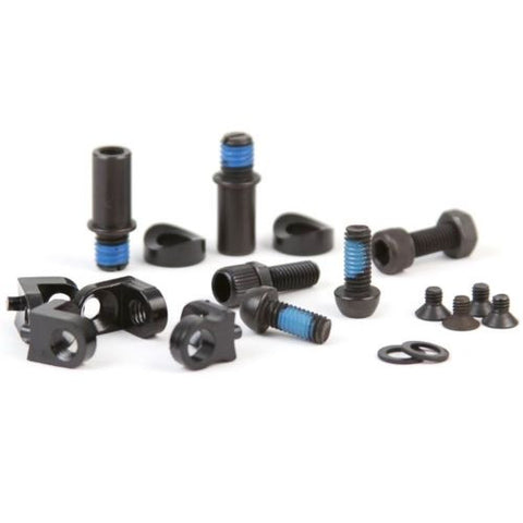 Colony Removable Brake Mount Kit - For Colony Frames & Most Other BLACK 55gms