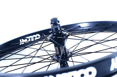 "Colony 20"" Rear BMX Wheel Pintour Rim With Wasp Hub Right Drive BLACK 1196gms"