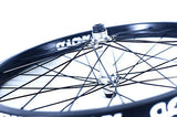 "Colony 20"" Front BMX Wheel Black Pintour Rim With Wasp Hub POLISHED 1043gms"