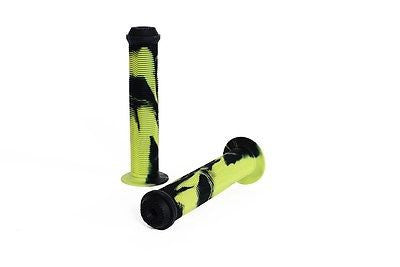 Colony Much Room BMX Grips & Bar Ends GREEN STORM 124gms