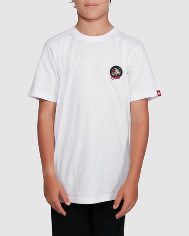 ELEMENT Youth Cat Claw SS White