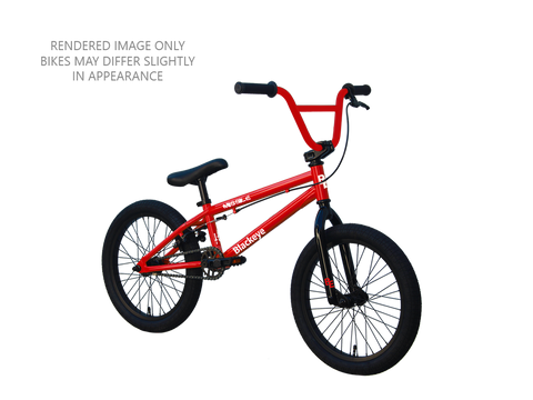 "Black Eye - Missile 16"" BMX - GLOSS RED"