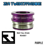 Root Industries Tall Stack Scooter Headset Sealed Bearings & Top Cap PURPLE 82gms