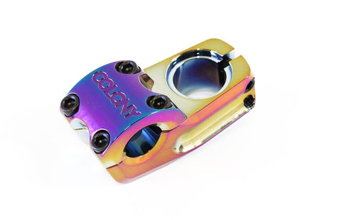 Colony Squareback BMX Stem Top Load RAINBOW 292gms