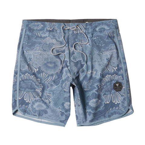 VISSLA Canggu Boardies 17.5 - LIGHT SLATE