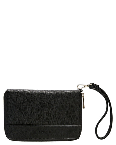 Ladies Rusty Abi Travel Wallet BLACK