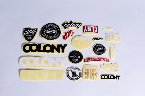 Colony Sticker Kit Pack of 20
