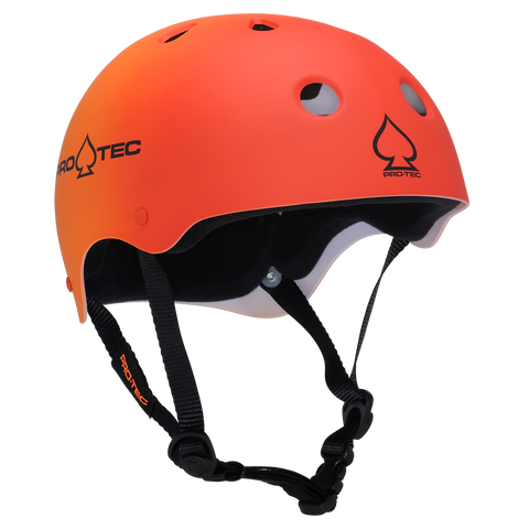 Pro-Tec Skate Helmets - Red Orange Fade
