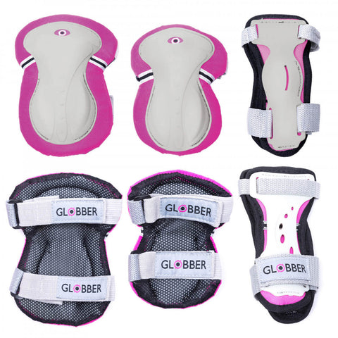 Globber Youth Pad Set XXS 3-7 Yrs PINK
