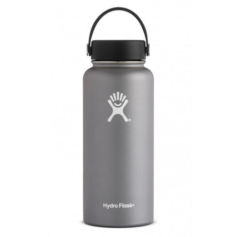Hydro Flask 32oz Wide Mouth -   GRAPHITE