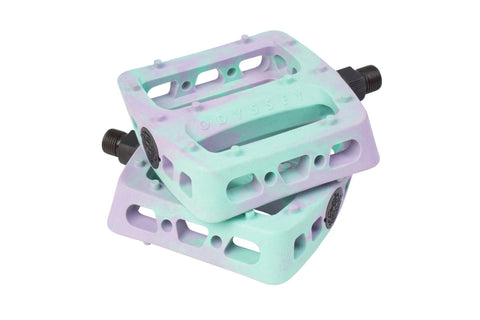 Odyssey Twisted Pro BMX Pedals - Lavender/Toothpaste