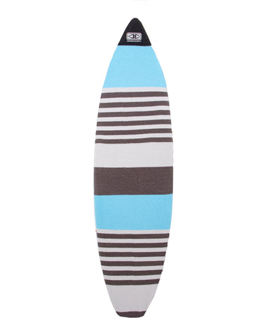 O&E Shortboard Stretch SOX Cover - BLUE