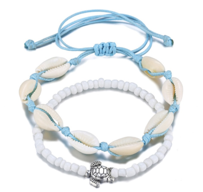 Nalu Jewels - Cowrie Anklet