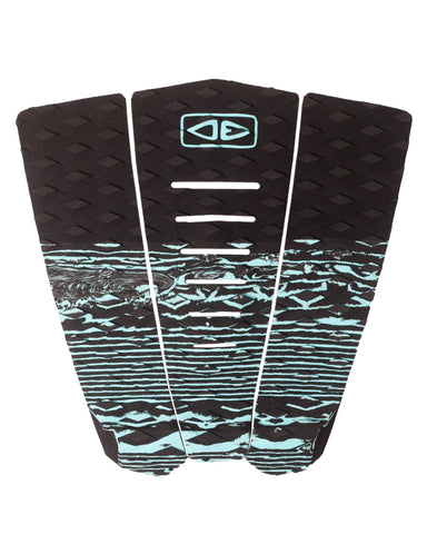 Ocean & Earth Blazed 3 Piece Tail Pad - AQUA