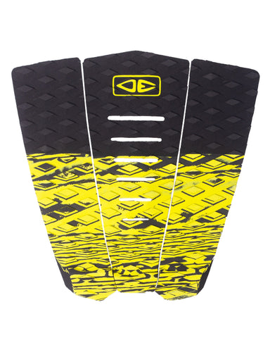 Ocean & Earth Blazed 3 Piece Tail Pad - LIME