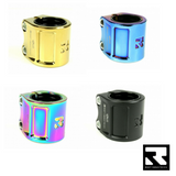 Root Industries Double Scooter Clamps - Assorted Colours
