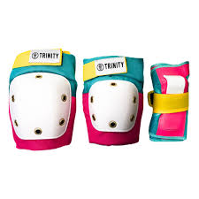 TRINITY - Adult Pads Pack - PINK/TEAL/YELLOW