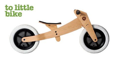 Wishbone Eco Kids Balance Bike 2 in 1