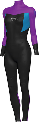 CRYSTAL Girls 3/2mm Steamer Wetsuit - PURPLE